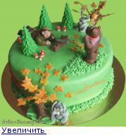 Торт для охотника фото.
