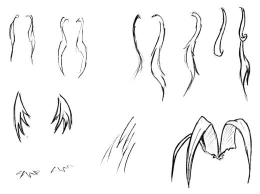 Учится рисовать аниме губы.