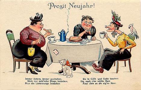 Немецкие Рождественские открытки.