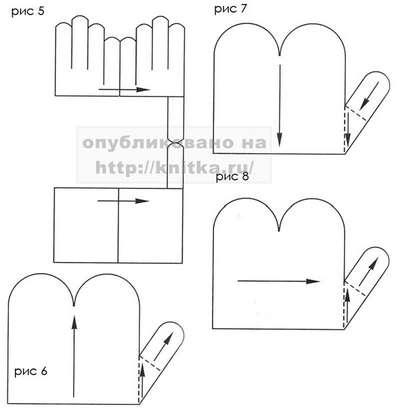 вязание из резинок схемы