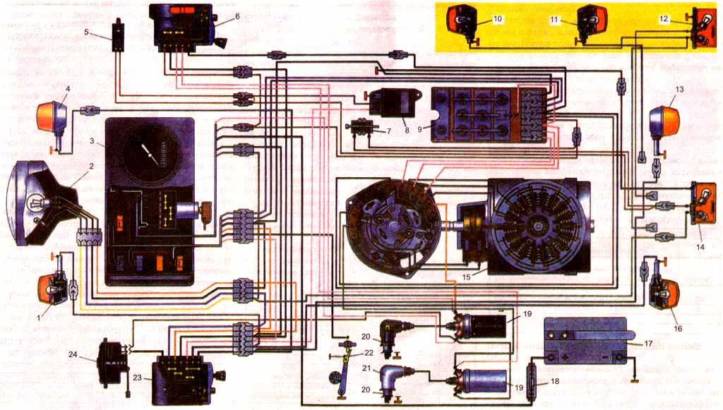 Схема проводки планета 5 26 фотография