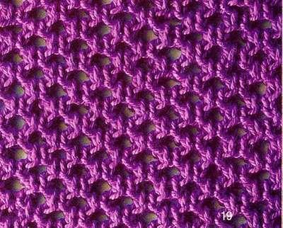 Узоры вязания спицами. Схемы