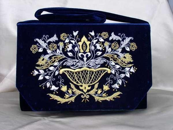 бухарская золотая вышивка