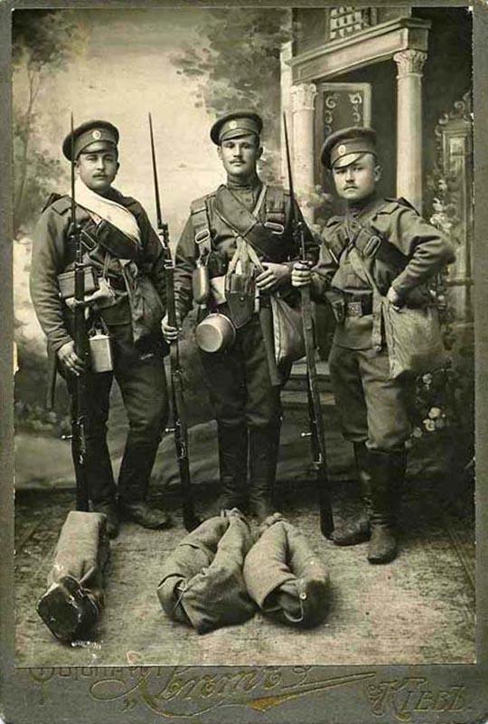 ...к началу Первой Мировой войны состоял из огромного количества вещей.