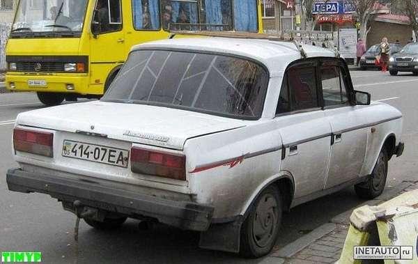 Переделанные отечественные автомобили.  Своими руками (25 фото)