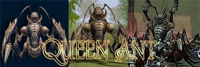 Королева Муравьев (Queen Ant).  Характеристика: Пассивный, Женского пола...