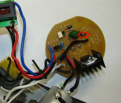 принципиальная электрическая схема фена фэ 2000