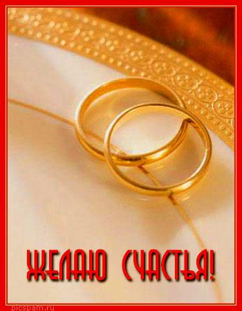 Картинка поздравления с бракосочетанием 149